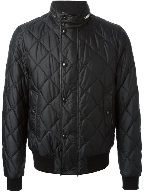 Padded Bomber Jacket by Burberry London in John Wick