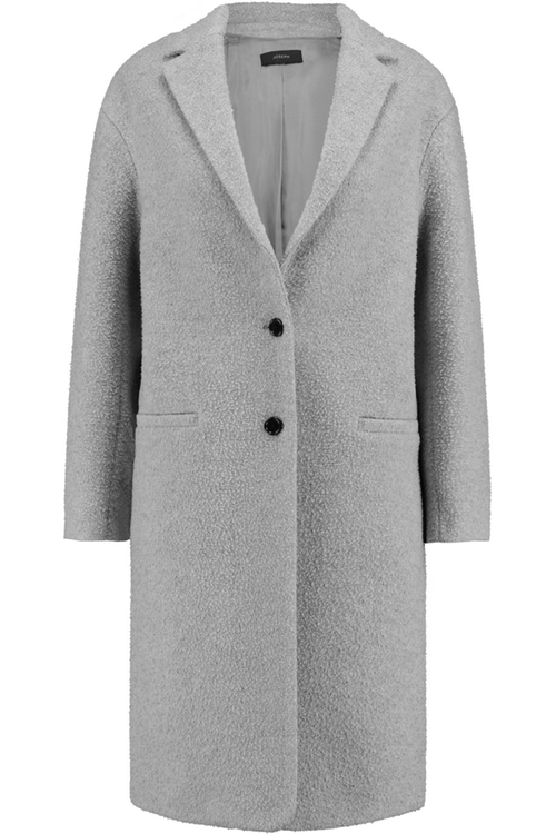 Teddy Textured Wool Blend Coat by Joseph in Arrow