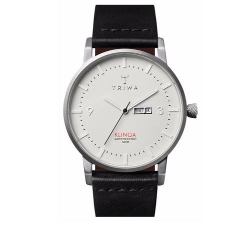 'Klinga' Leather Strap Watch by Triwa in Modern Family