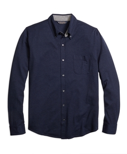 Button-Down Knit Shirt by Brooks Brothers in Mad Dogs