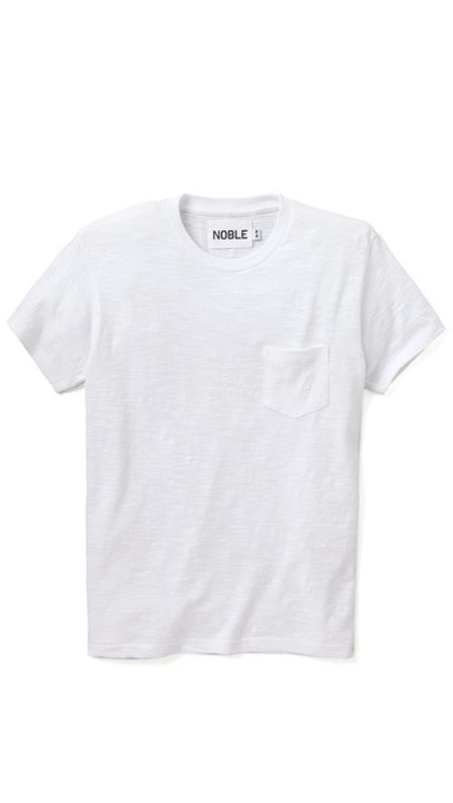Pocket T-Shirt by Noble Denim in Contraband