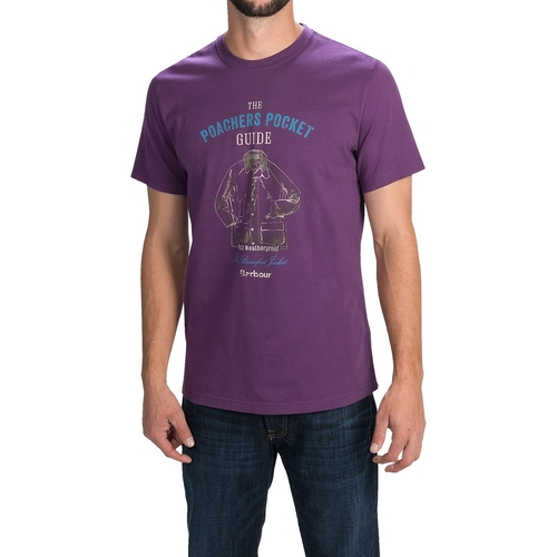 Printed Cotton Knit T-Shirt by Barbour in The Big Bang Theory - Season 9 Episode 13