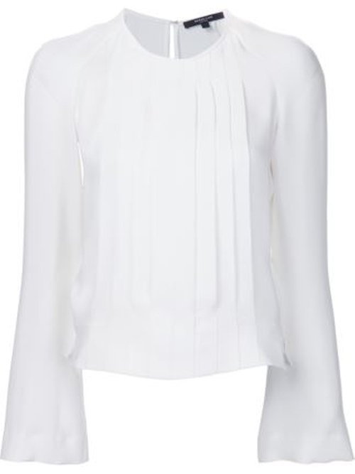 Pleated Chest Top by Derek Lam  in Suits - Season 6 Episode 10