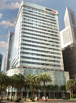 Singapore by HSBC Building in Hitman: Agent 47