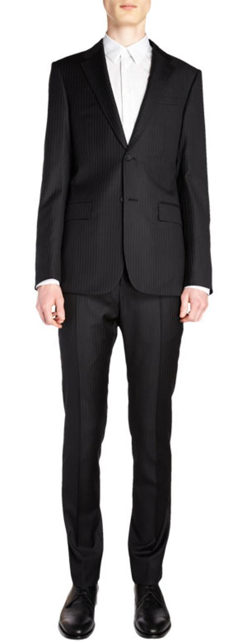 Pinstriped Suit by Balenciaga in We're the Millers