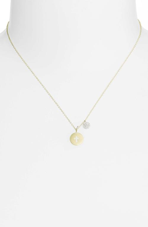 'Charmed' Diamond Pendant Necklace by MeiraT in No Strings Attached
