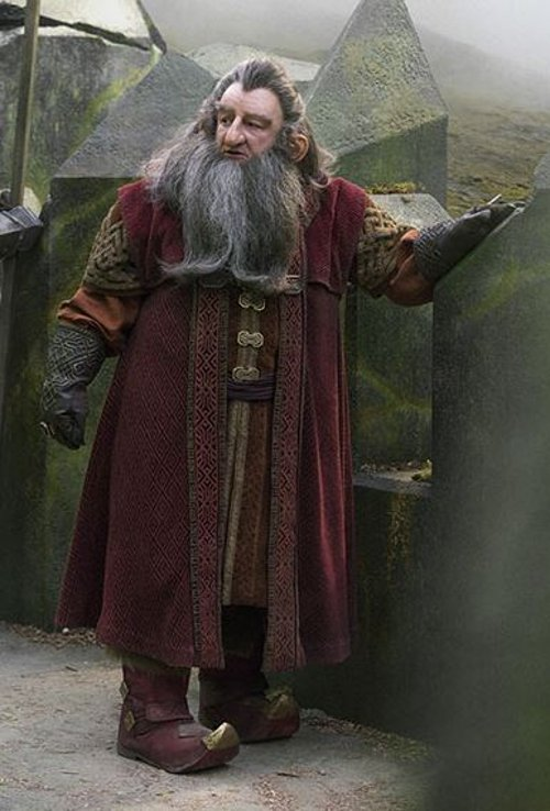 Custom Made Balin Costume by Ann Maskrey & Bob Buck (Costume Designer) in The Hobbit: The Battle of The Five Armies