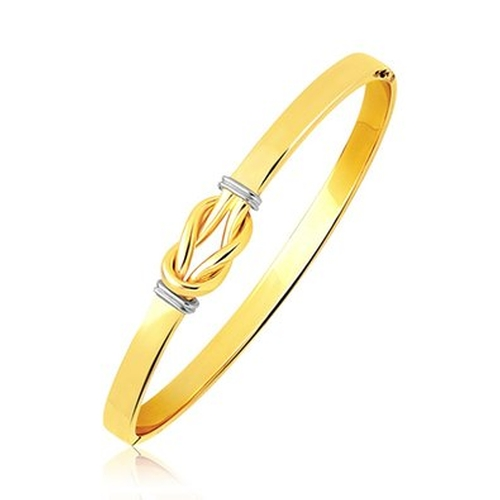 Intertwined Knot Slip On Bangle by Security Jewelers in Suits - Season 5 Episode 1