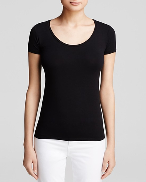 Scoop Neck T-Shirt by Majestic in Mr. & Mrs. Smith