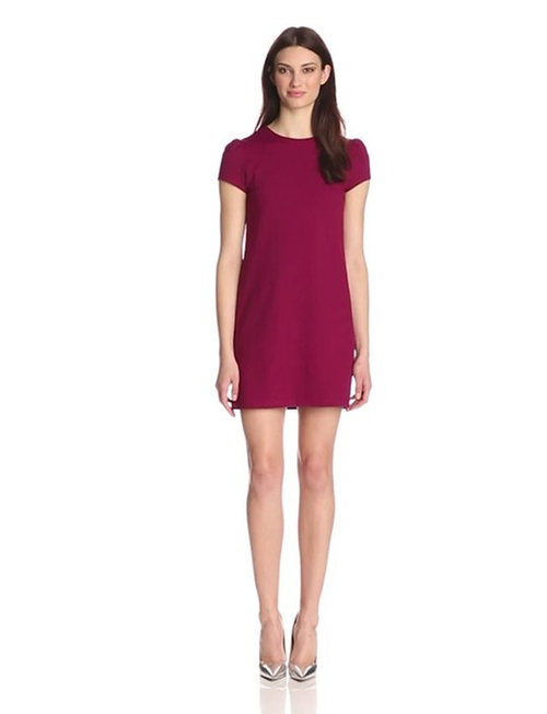 Women's Supplex Lauren Short-Sleeve Dress by Susana Monaco in Clueless