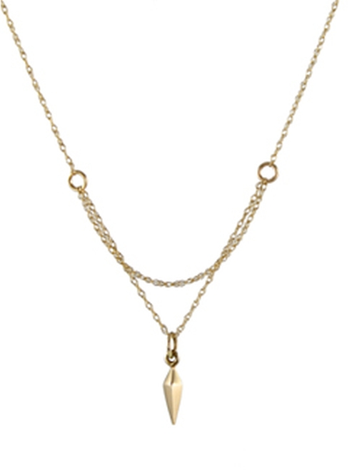 Basic Cobweb Necklace by Peggy Li in Pretty Little Liars - Season 6 Episode 17