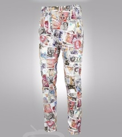 Money Print Trousers by Vivienne Westwood in Empire