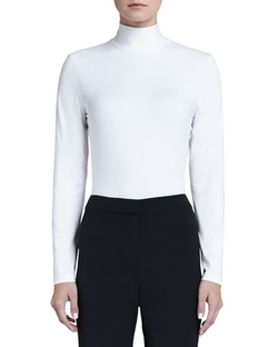 Turtleneck Shell Sweater by St. John Collection in Scream Queens