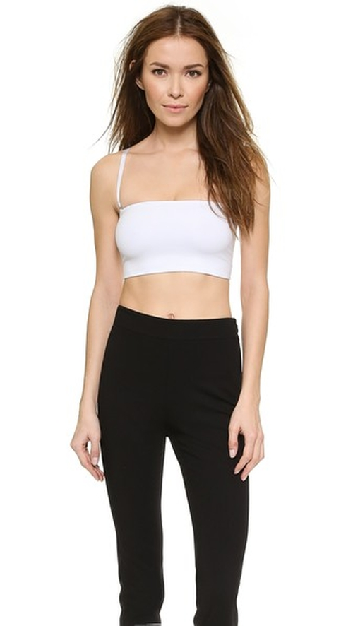 Tubular Bari Tube Top by Theory in Scream Queens