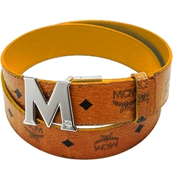 Reversible M-Buckle Belt by MCM Worldwide in Ballers