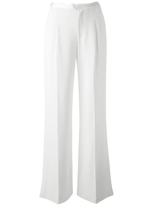 Flared Crepe Trousers by Haute Hippie in Savages