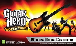 Guitar Hero World Tour Wireless Guitar Controller by Activision in Couple's Retreat