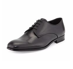 Rubber-Bottom Dress Oxford Shoes by Giorgio Armani in Empire