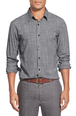 Long Sleeve Sport Shirt by Front Street in Master of None