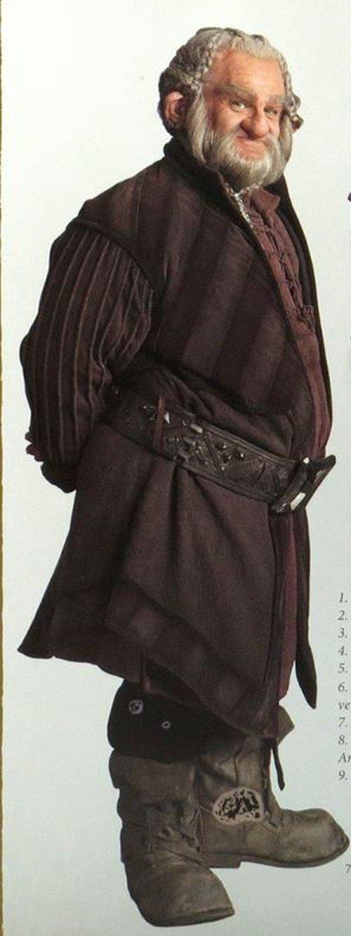 Custom Design Dori Costume by Ann Maskrey & Bob Buck (Costume Designer) in The Hobbit: The Battle of The Five Armies