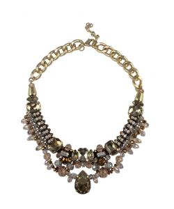 Bauble Bronzed Necklace by Kristin Perry Accessories in Addicted