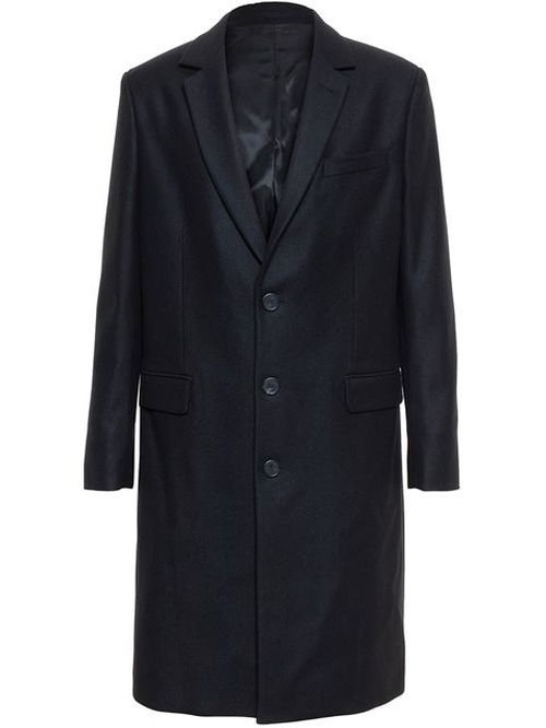 Classic Overcoat by Ami Alexandre Mattiussi in Arrow - Season 4 Episode 9