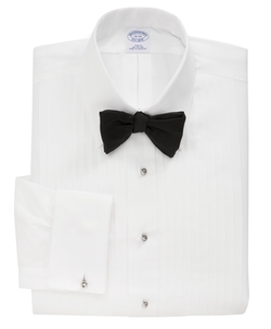 Regent Fit Ten-Pleat Tennis Collar Tuxedo Shirt by Brooks Brothers in Scandal