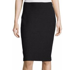 Micro Boucle Knit Pencil Skirt by St. John Collection in Power