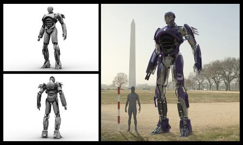 SNTL2 (1970s Sentinel) by Framestore (Concept Artist) in X-Men: Days of Future Past