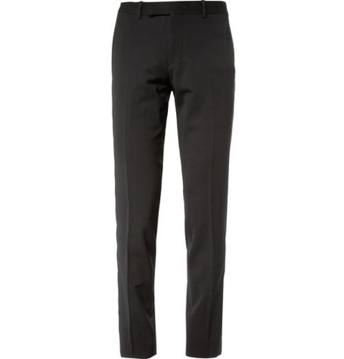 SLIM-FIT WOOL-BLEND SUIT TROUSERS by WOOYOUNGMI in Jersey Boys