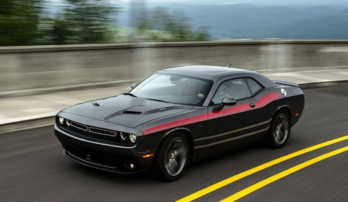 Challenger Muscle Car by Dodge in The Boy Next Door