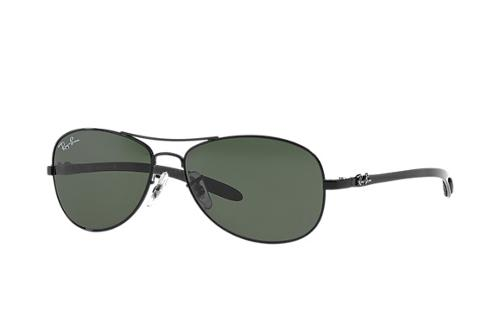 RB8301 Green Classic G-15 Sunglasses by Ray-Ban in Ride Along