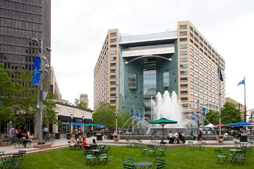 Campus Martius Park Detroit, Michigan in Need for Speed