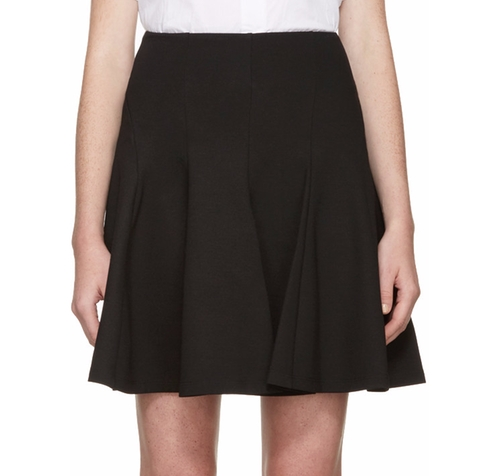 Black New Flirty Miniskirt by McQ Alexander McQueen in Pretty Little Liars - Season 7 Preview