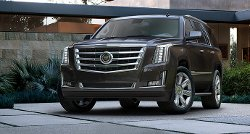 Escalade SUV by Cadillac in Black or White