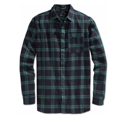 Watts Plaid Long Sleeve Button-Front Shirt by Tavik in Animal Kingdom