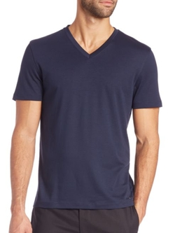 Sleek V-Neck T-Shirt by Michael Kors in The Bachelorette