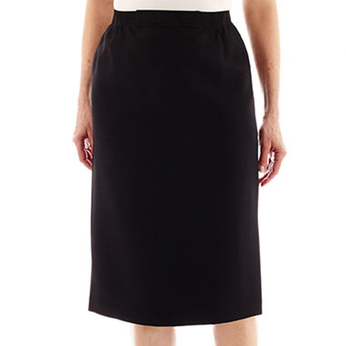 Pencil Skirt by Alfred Dunner in Pitch Perfect