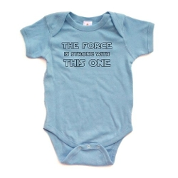 One Baby Bodysuit by Apericots in The Hangover