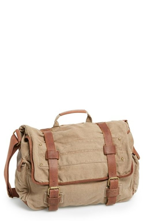 Canvas Messenger Bag by Rawlings in Begin Again