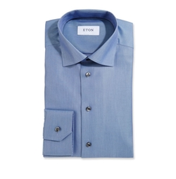 Textured Twill Dress Shirt by Eton in Designated Survivor