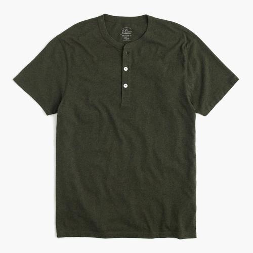 Slim Broken In Short Sleeve Henley Shirt by J.Crew in Pretty Little Liars - Season 6 Episode 19