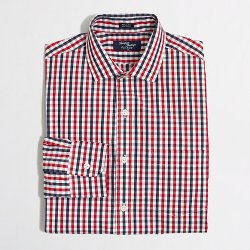 Thompson-Collar Dress Shirt by J.Crew Factory in Her