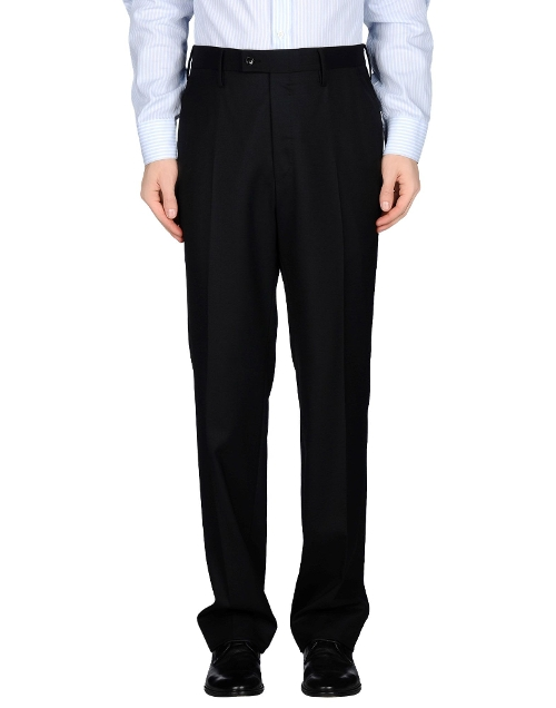 Cotton Twill Casual Pants by Gucci in Spy