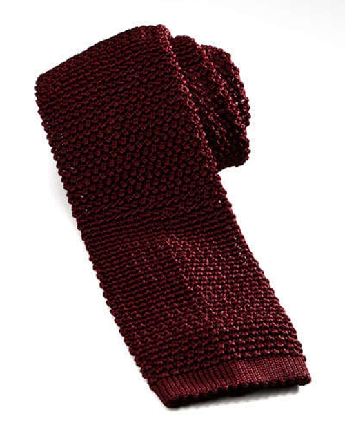 Knit Silk Tie by Charvet	 in Terminator: Genisys