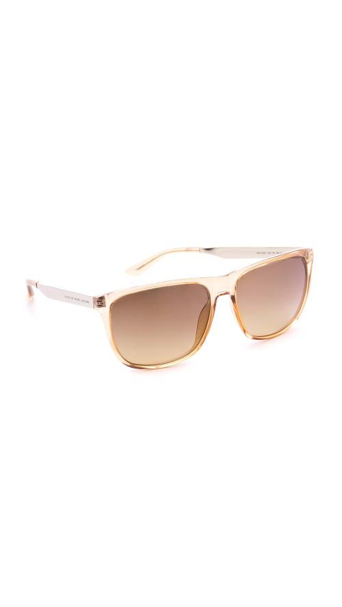 Flat Top Sunglasses by Marc Jacobs in Warm Bodies