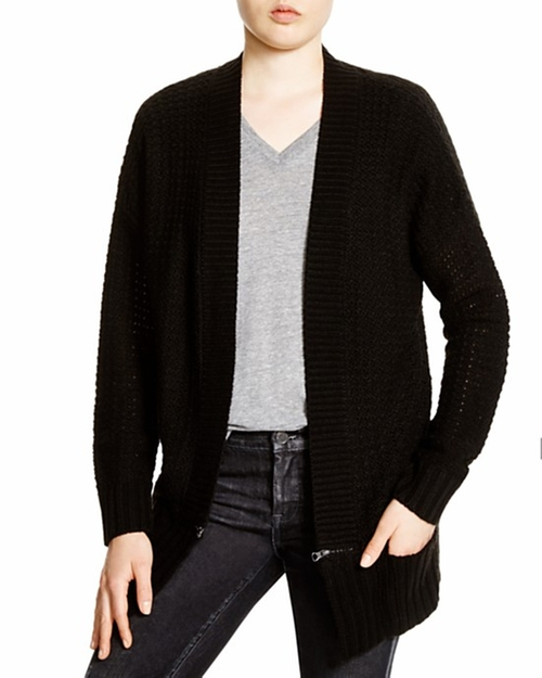 Trim Pointelle Knit Cardigan by Aqua Zip in Jem and the Holograms