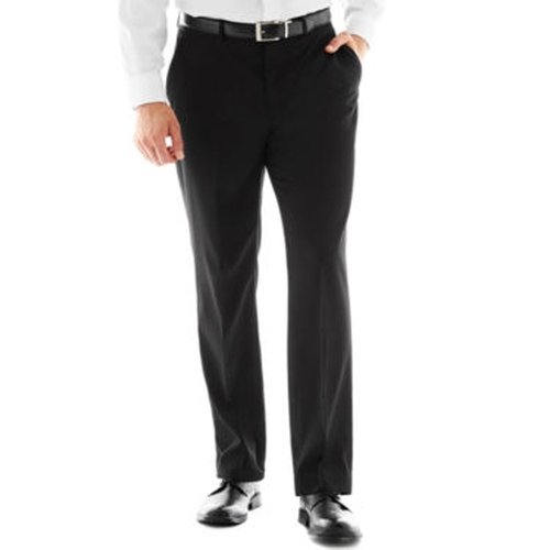 Black Flat-Front Suit Pants by Dockers in Bridge of Spies