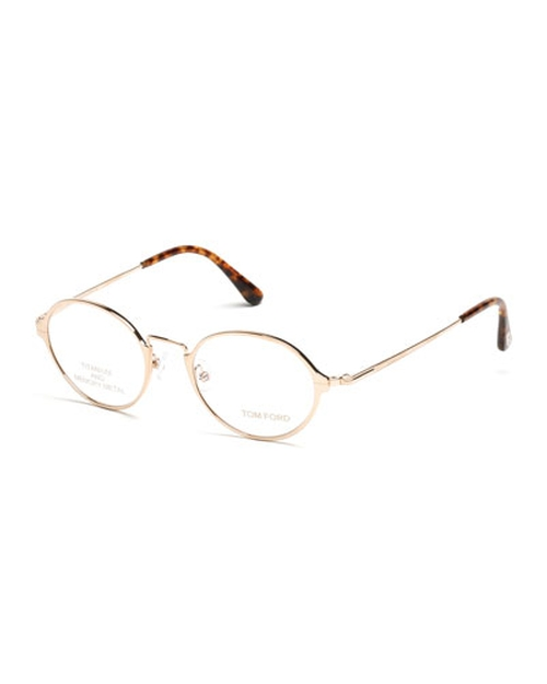 Round Metal Eyeglasses by Tom Ford in The Big Lebowski