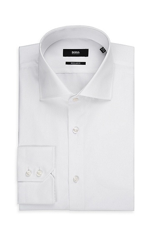 Spread Collar Dress Shirt by Hugo Boss in Youth